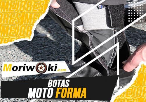 Mejores botas moto forma