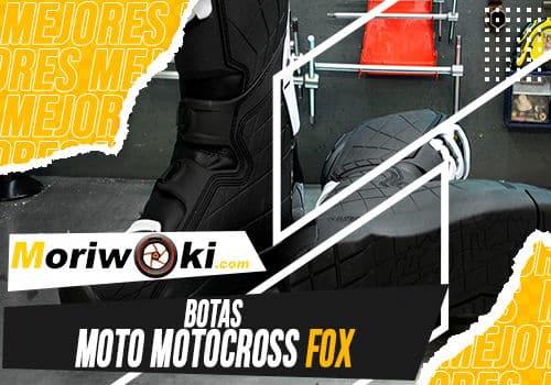 Mejores botas moto motocross fox