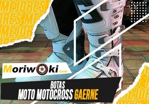 Mejores botas moto motocross gaerne