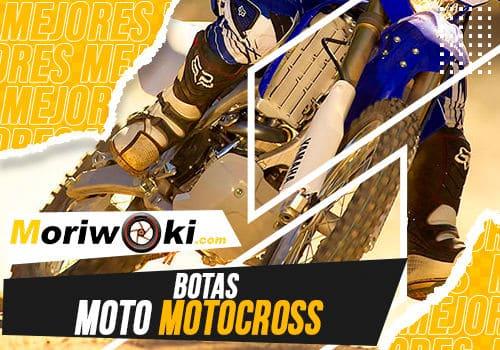 Mejores botas moto motocross