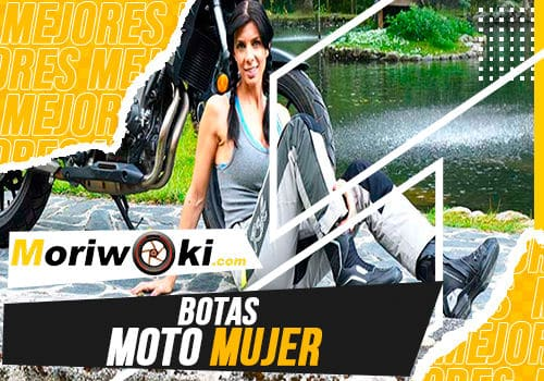 Mejores botas moto mujer