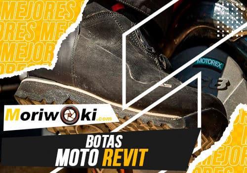 Mejores botas moto revit