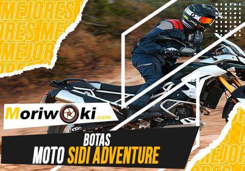 Mejores botas moto sidi adventure