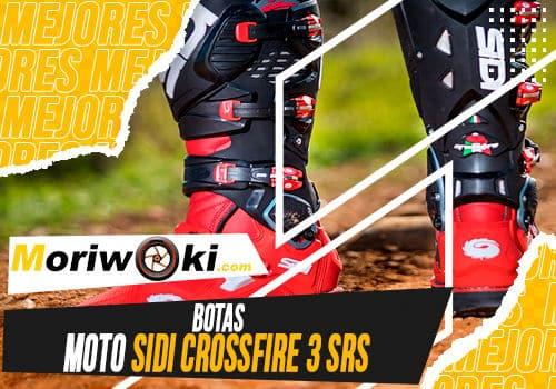 Mejores botas moto sidi crossfire 3 srs