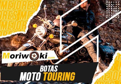 Mejores botas moto touring