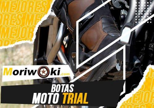 Mejores botas moto trial