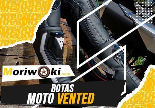 Mejores botas moto vented