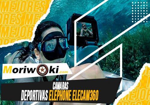 Mejores camaras deportivas elephone elecam360