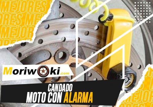 Mejores candado moto con alarma