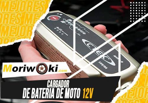 Mejores cargador de bateria de moto 12v