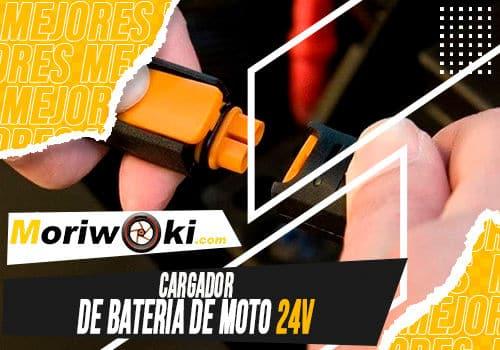 Mejores cargador de bateria de moto 24v