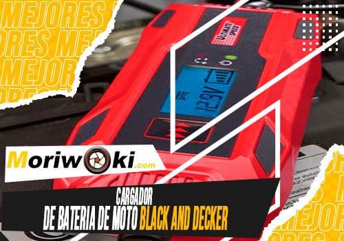 Mejores cargador de bateria de moto black and decker