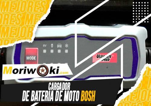 Mejores cargador de bateria de moto bosh