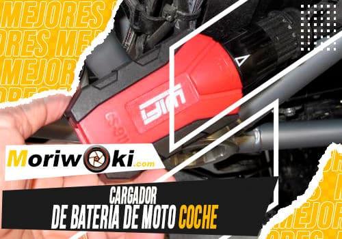 Mejores cargador de bateria de moto coche