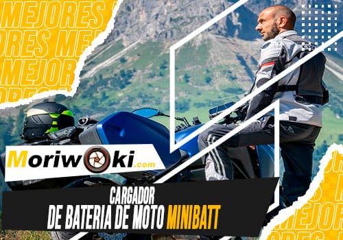 Mejores cargador de bateria de moto minibatt