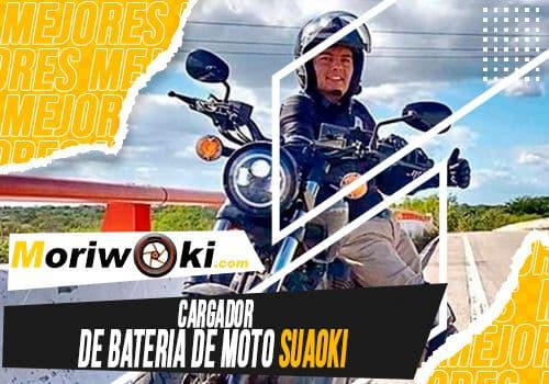 Mejores cargador de bateria de moto suaoki