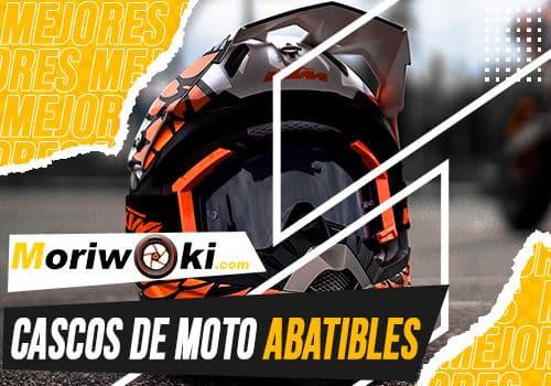 Mejores cascos de moto abatibles