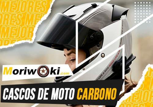 Mejores cascos de moto carbono