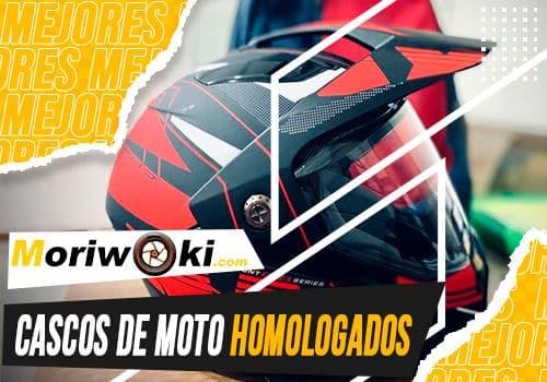 Mejores cascos de moto homologados