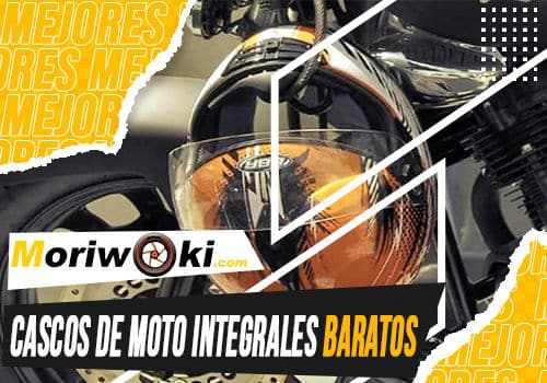 Mejores cascos de moto integrales baratos