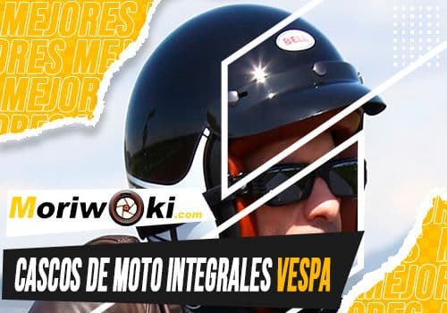 Mejores cascos de moto integrales vespa