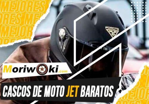 Mejores cascos de moto jet baratos