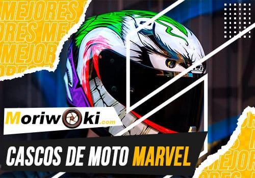 Mejores cascos de moto marvel