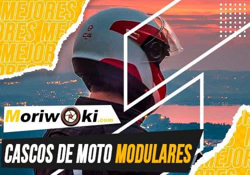 Mejores cascos de moto modulares