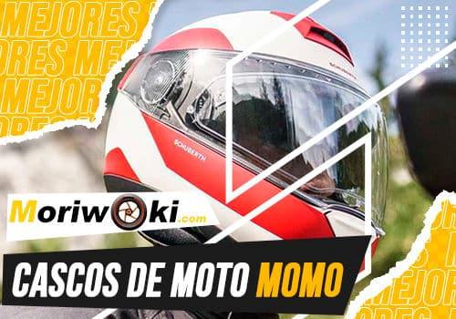 Mejores cascos de moto momo