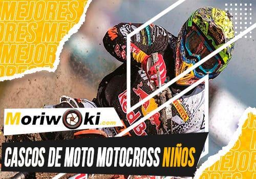 Mejores cascos de moto motocross ninos