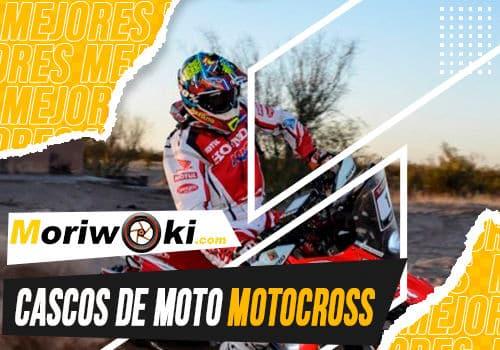 Mejores cascos de moto motocross