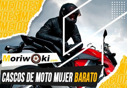 Mejores cascos de moto mujer barato