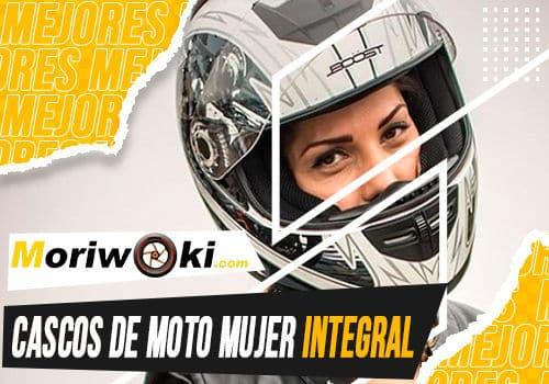 Mejores cascos de moto mujer integral