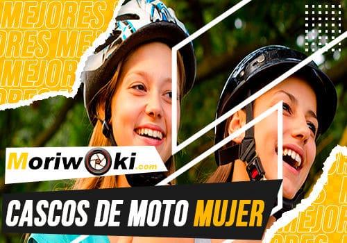 Mejores cascos de moto mujer