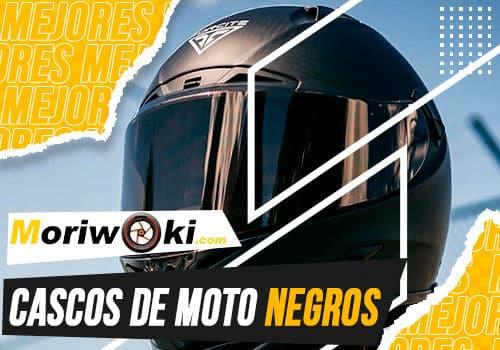 Mejores cascos de moto negros