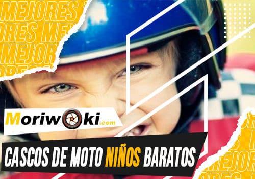 Mejores cascos de moto ninos baratos