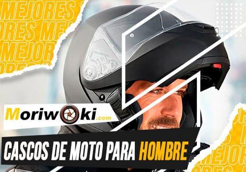 Mejores cascos de moto para hombre