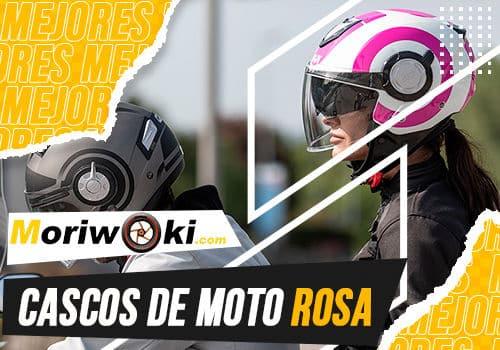 Mejores cascos de moto rosa