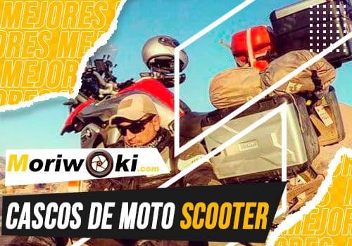 Mejores cascos de moto scooter