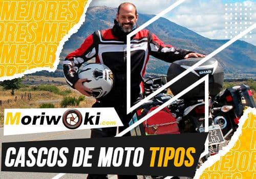 Mejores cascos de moto tipos