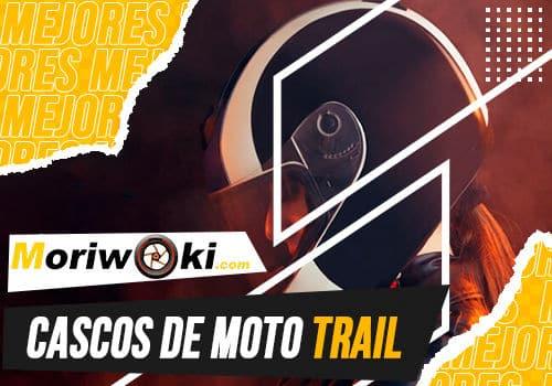 Mejores cascos de moto trail