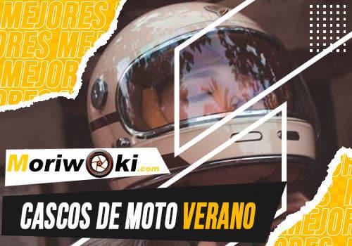 Mejores cascos de moto verano