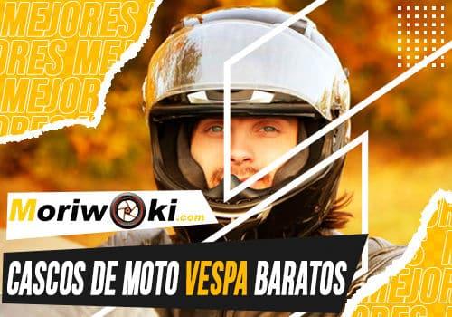 Mejores cascos de moto vespa baratos