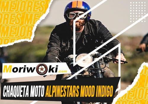 Mejores chaqueta moto alpinestars mood indigo