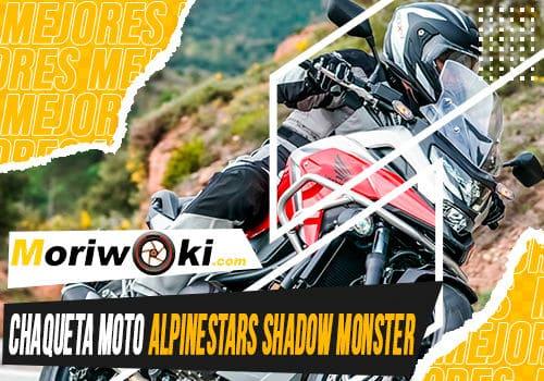 Mejores chaqueta moto alpinestars shadow monster