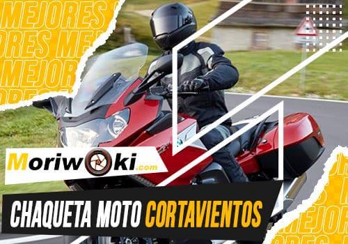 Mejores chaqueta moto cortavientos