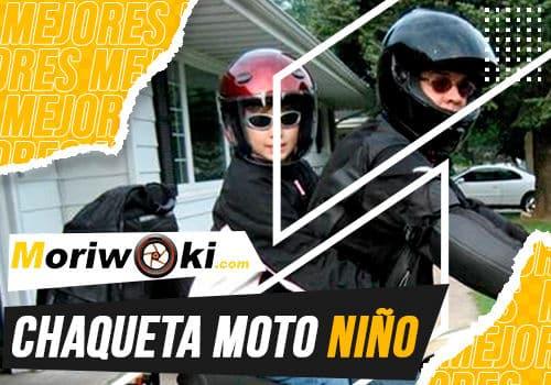Mejores chaqueta moto niño