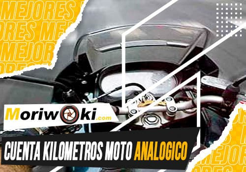 Mejores cuenta kilometros moto analogico