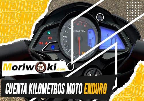 Mejores cuenta kilometros moto enduro