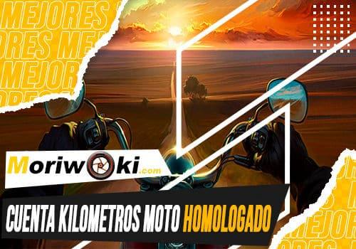 Mejores cuenta kilometros moto homologado
